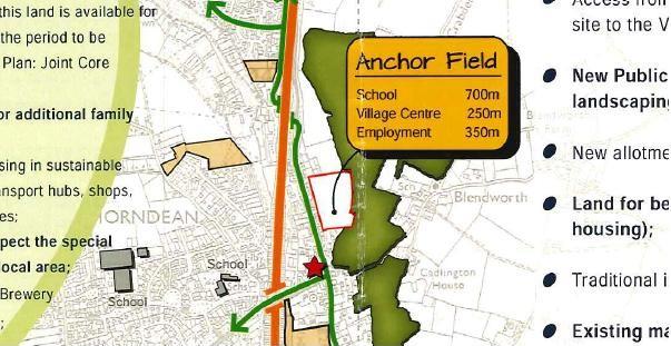 Blue Anchor Field Site