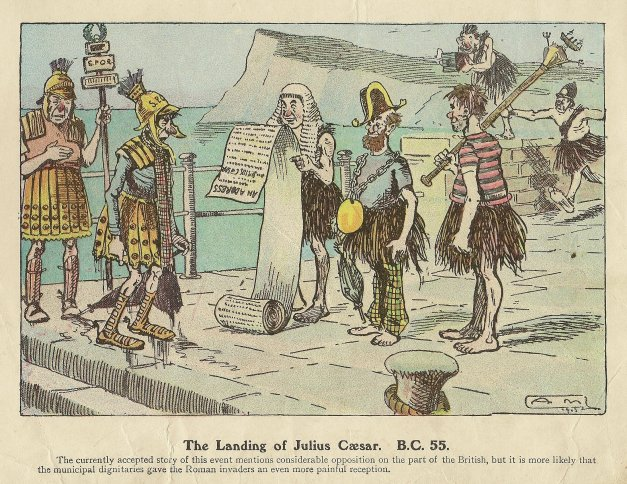 Roman Landings The Morning Leader circa 1920