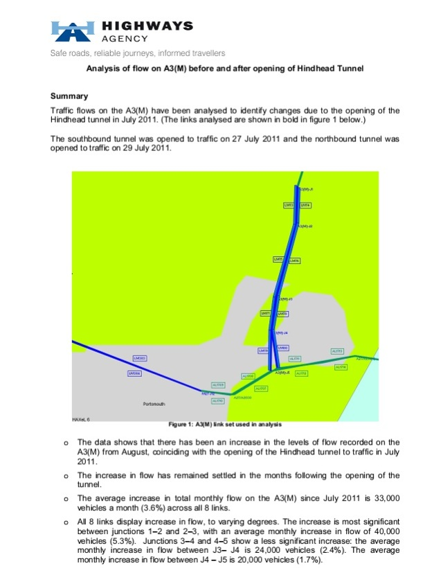 A3M Traffic post Hindhead