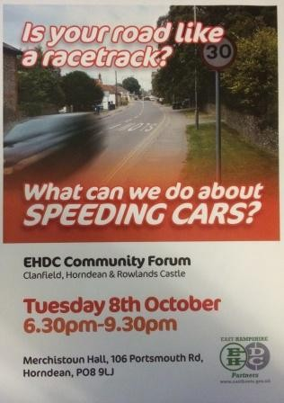 EHDC Speeding Community Forum