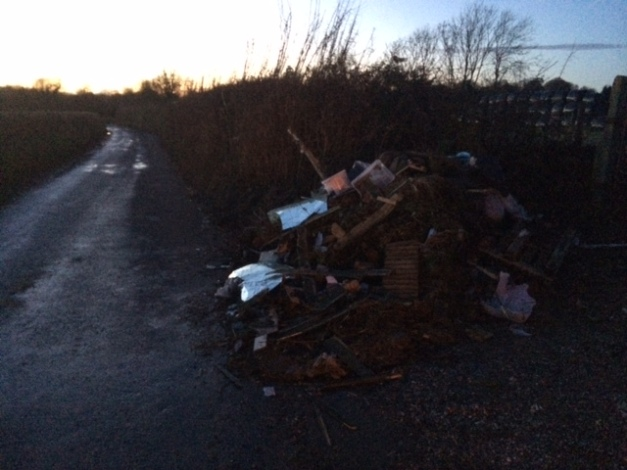 Fly Tip rubbish