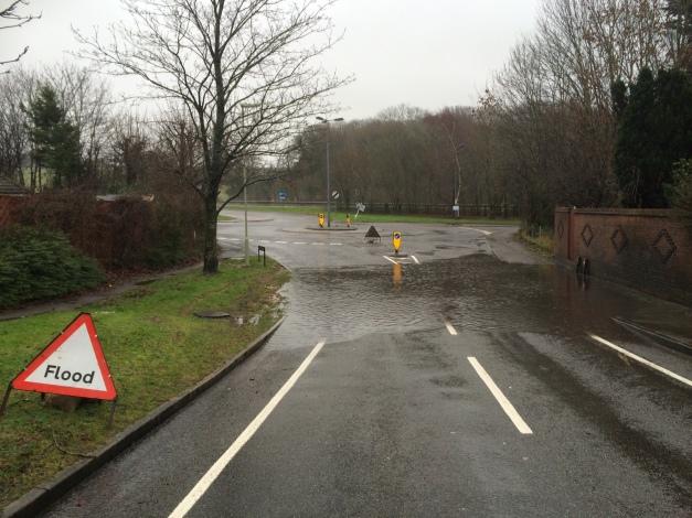 Downwood Way Flooding