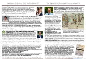 Jan 2014 newsletter