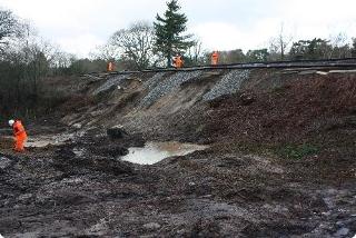 Rail land slip 1