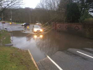 Downwood Way Flooding 2014 02 14