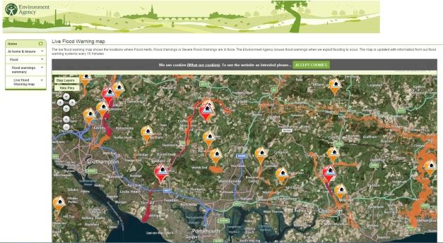EA Flood Map