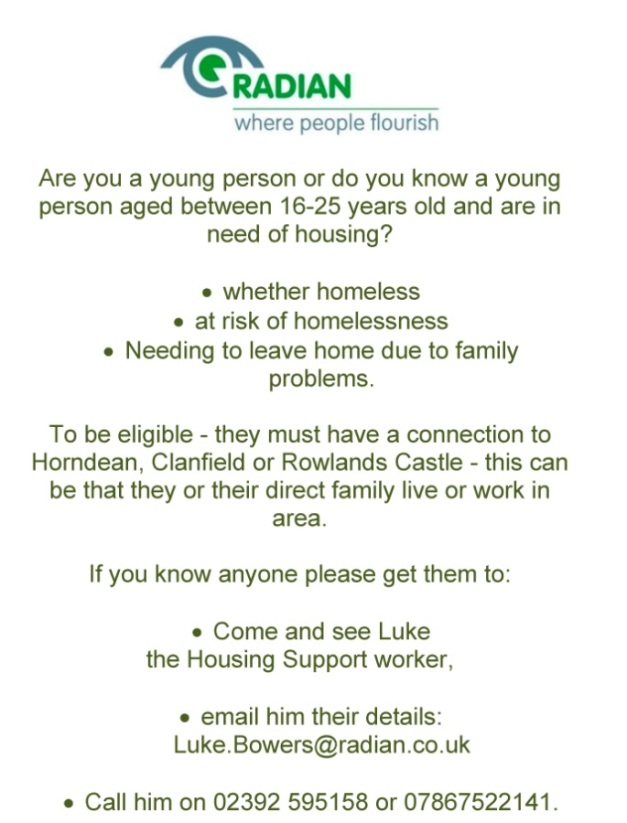 Radian help for young people