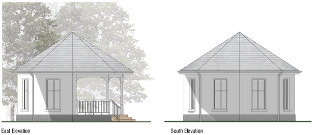 Bandstand Elevations 1