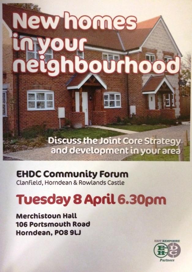 CF Homes In Your Neighbourhood Poster