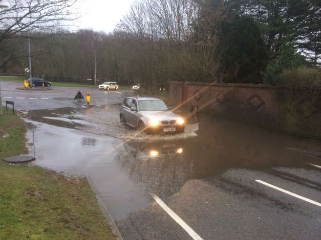 Downwood Way Flooding March 2014