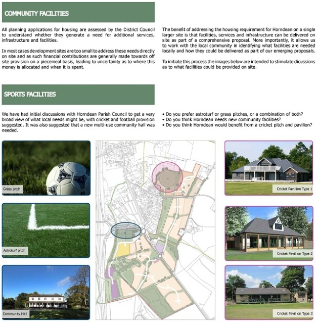 Community, Sports facilities