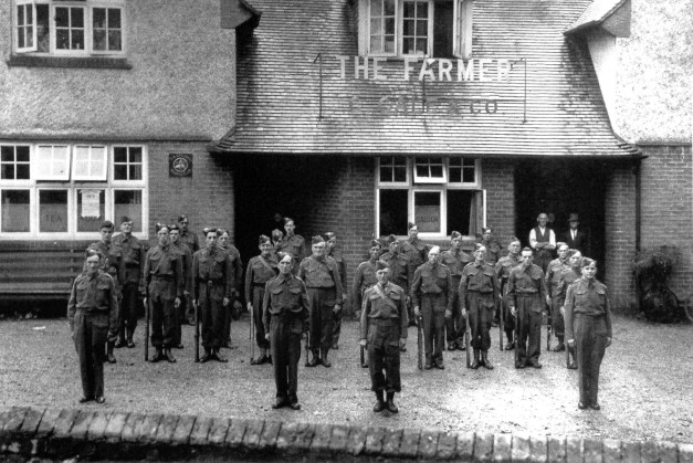 Home Guard Catherington 1941