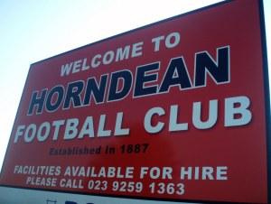 horndean FC sign