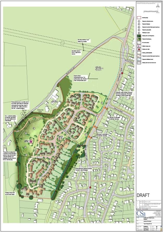 Horndean Illustrative Masterplan EHDC