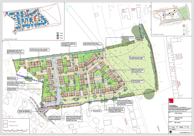 Horndean Show Ground Development 1
