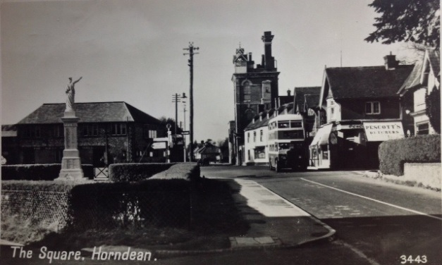 Horndean Village Centre 1950's