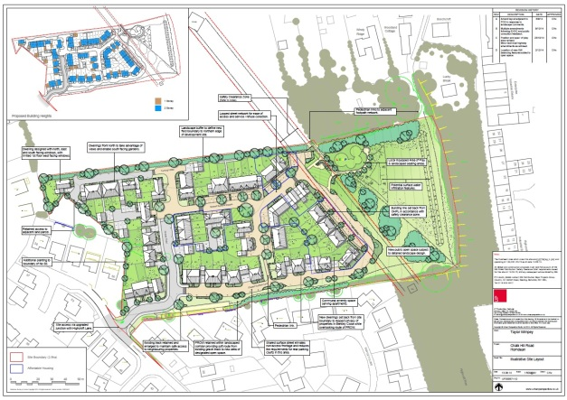 Chalk Hill Road Site Plan