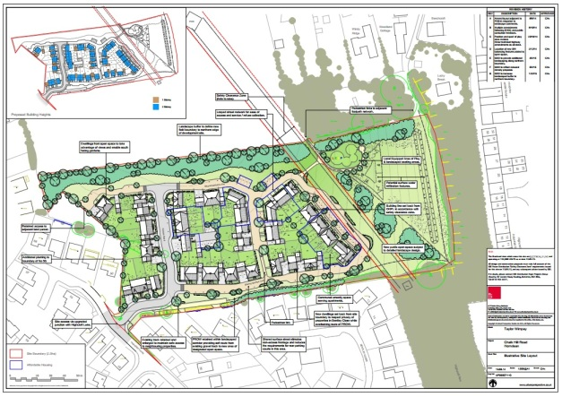 Chalk Hill Road Revised Plans
