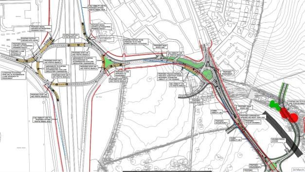 LEOH Motorway Junction Improvements