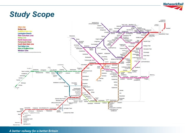 Railway Network Plan