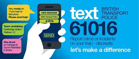 BTP text campaign