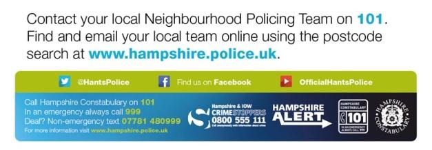 Neighbourhood Police Team Banner