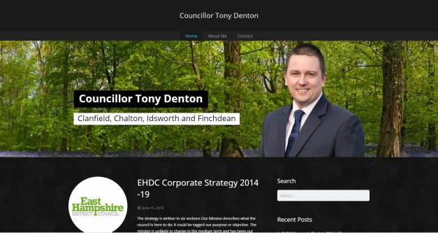 Tony Denton Blog