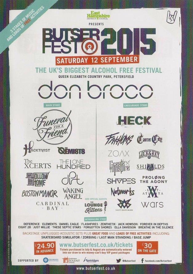 Butserfest 2015 Flyer
