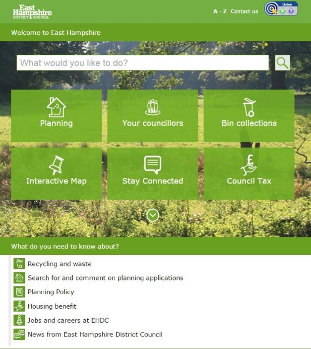 EHDC Website