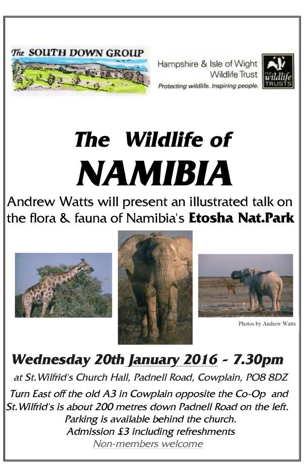HMB Namibia Talk