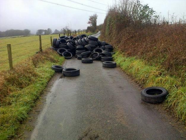 dumped-tyres