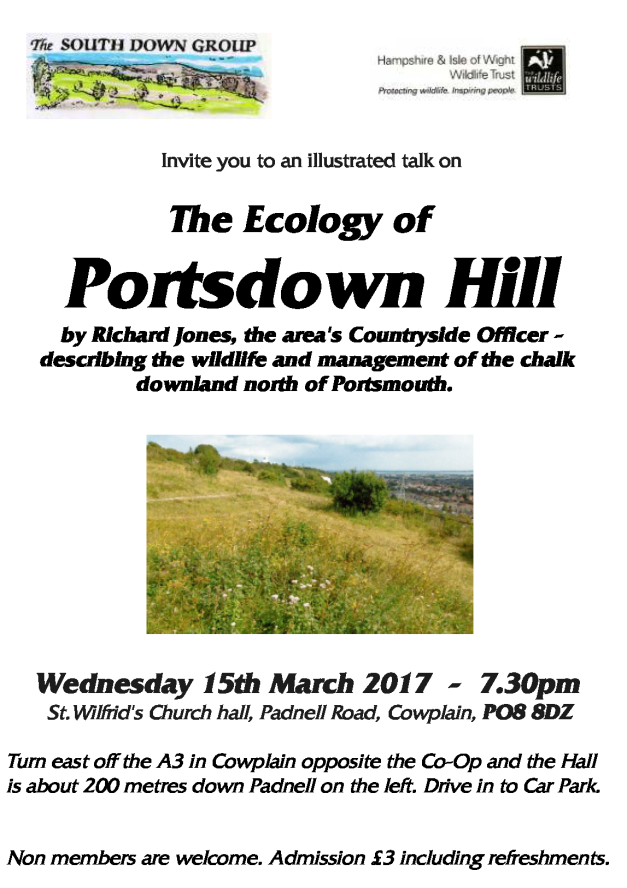 South Down Group 15 Mar ecology of Portsdown Hill.png