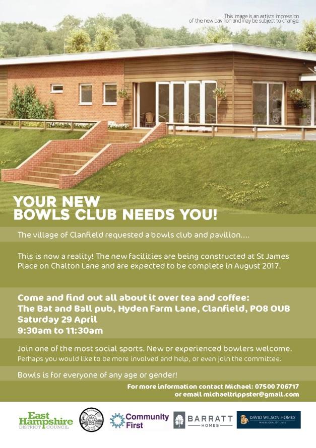 Clanfield Bowls Club