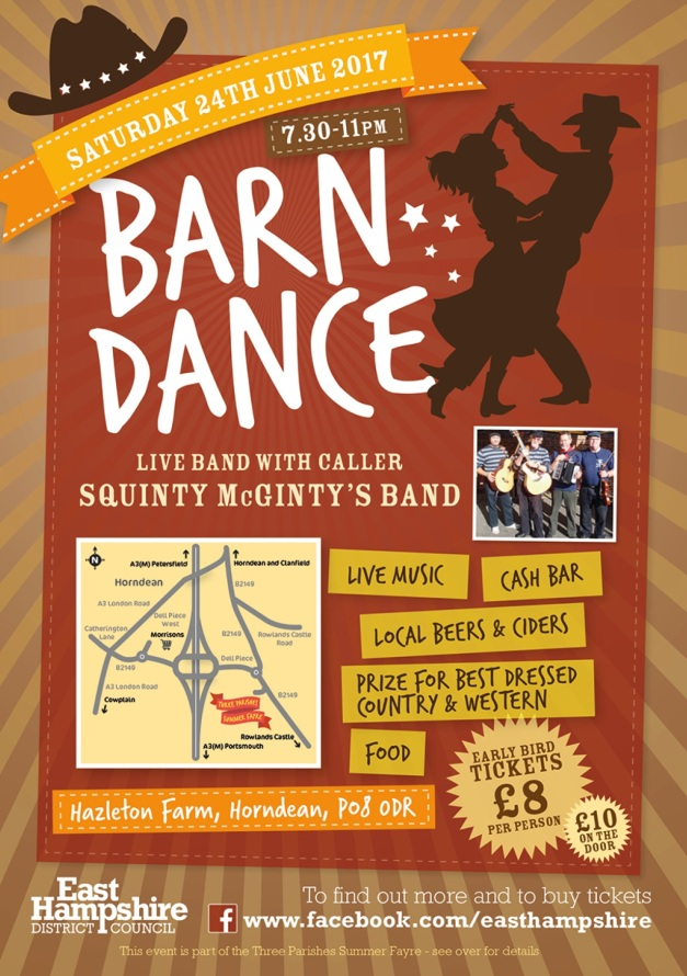 3 Parishes Barn Dance 2017