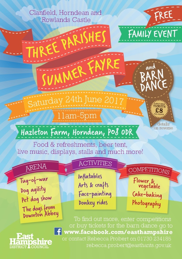 3 parishes Summer Fayre 2017
