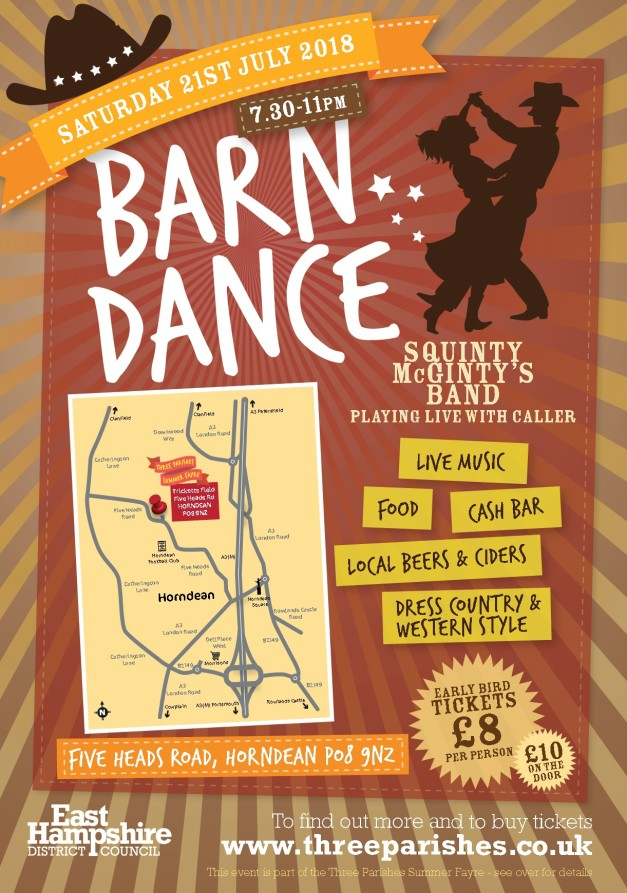 Southern Parishes 2018 barn dance