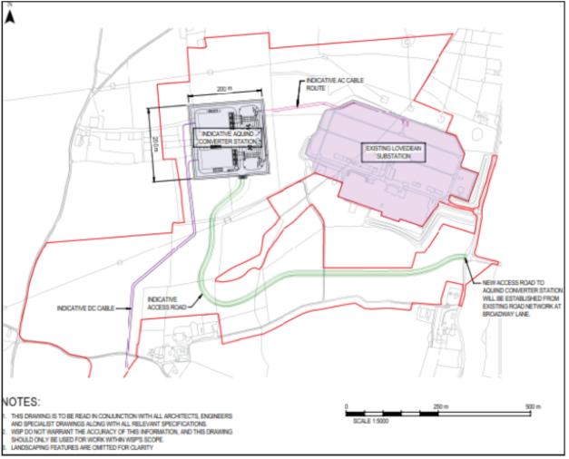 Aquind Converter Station Plan 2019 02 26