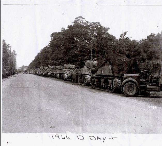 D Day Tanks