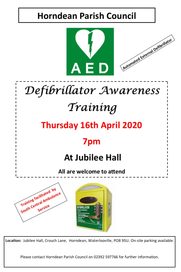 HPC Defibrilator Training